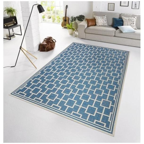 Kusový koberec BOTANY Bay - modrý
