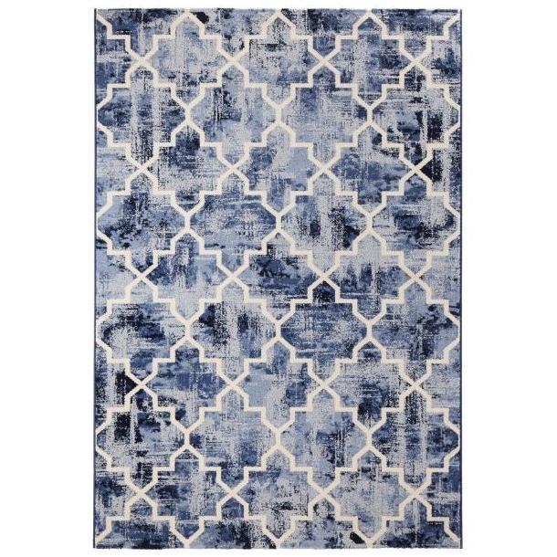 Kusový koberec Diamond Elegance - modrý