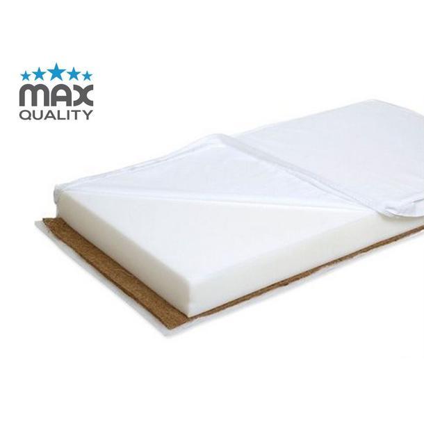 Dětská matrace MAX - 200x90 cm - kokos / molitan