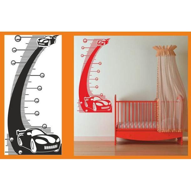 Dětský samolepící METR COLOR - vzor 8