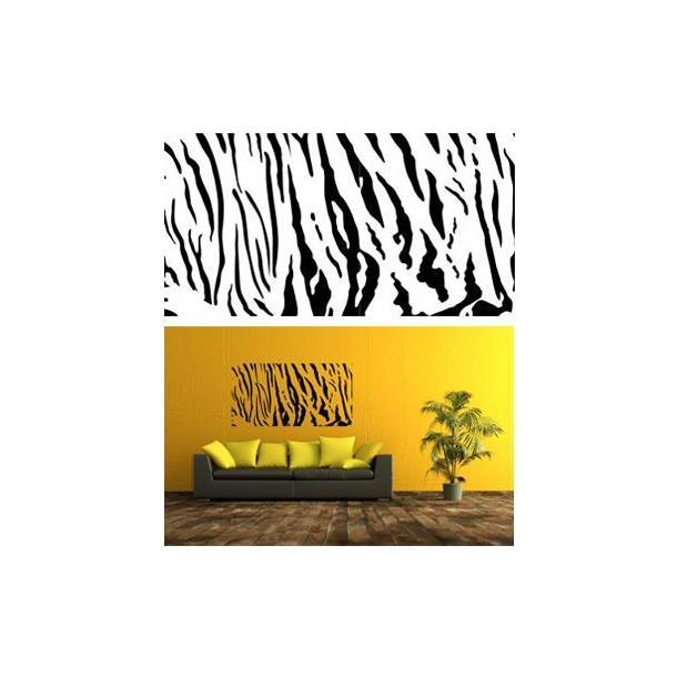Samolepky na zeď SAFARI color - vzor 2