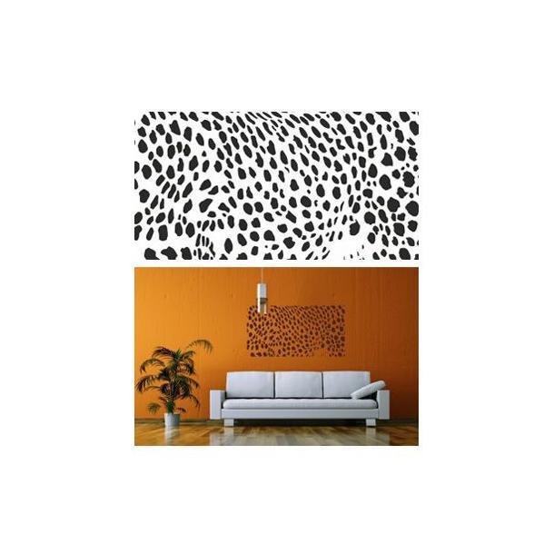 Samolepky na zeď SAFARI color - vzor 3