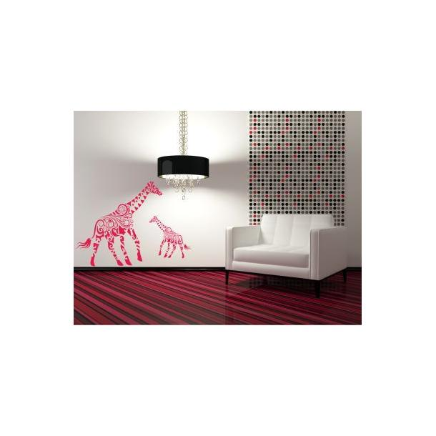 Samolepky na zeď SAFARI color - vzor 7