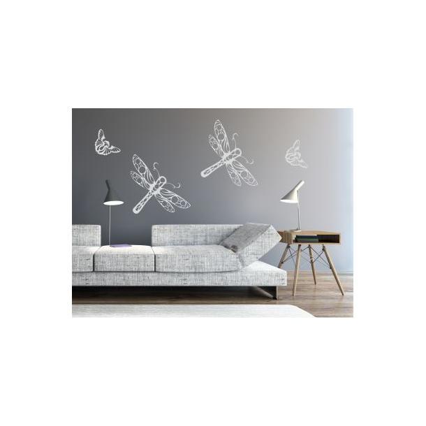 Samolepky na zeď SAFARI color - vzor 11