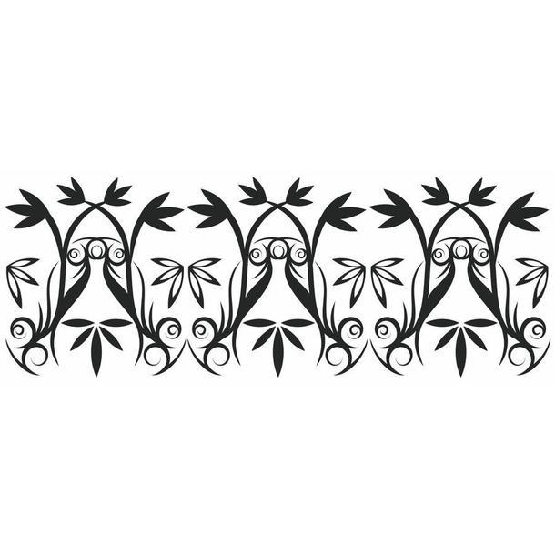 Samolepky na zeď BORDURA COLOR - vzor 8
