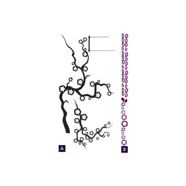 Dvoubarevné samolepky EXTRA DUO COLOR - vzor 3