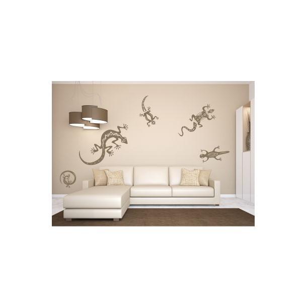 Samolepky na zeď SAFARI color - vzor 10