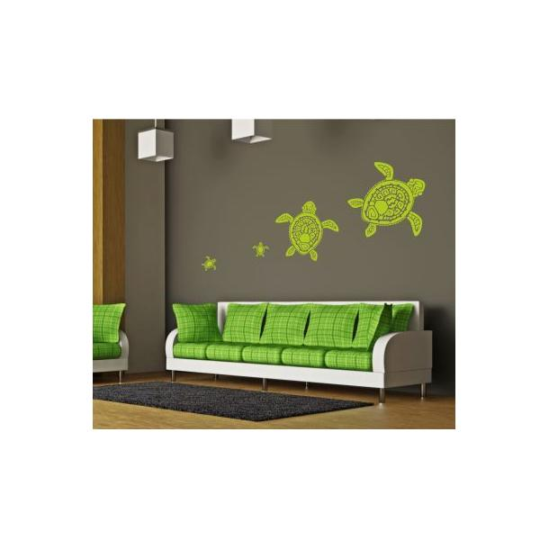 Samolepky na zeď SAFARI color - vzor 9