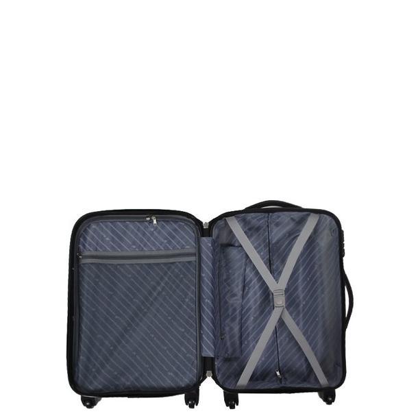 Moderní cestovní kufry MOTÝL - vnitřní prostor