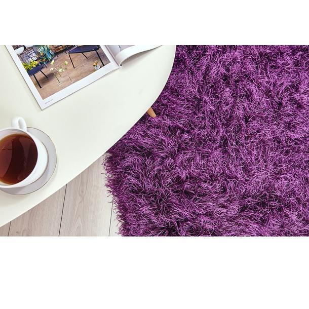Kusový koberec Shaggy MAX inspiration - fialový