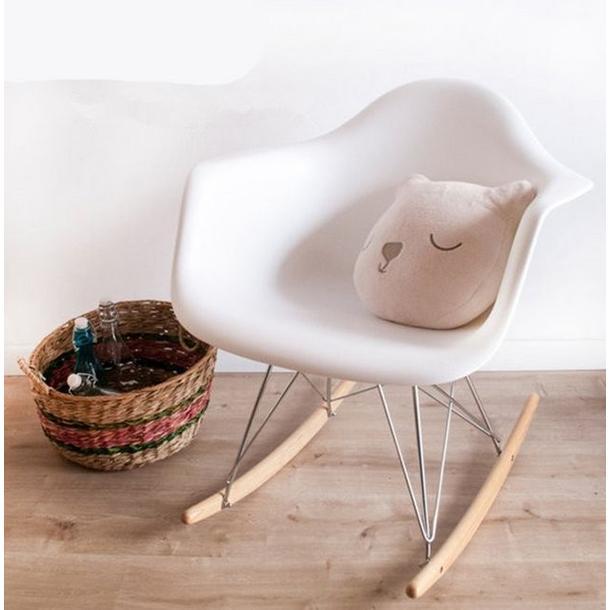 Designové houpací křeslo Andrea - cappuccino