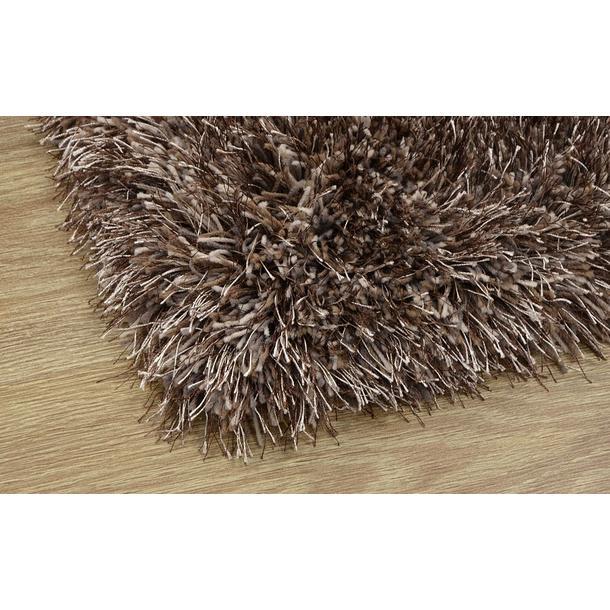 Kusový koberec Shaggy MAX puffy - tmavě béžový