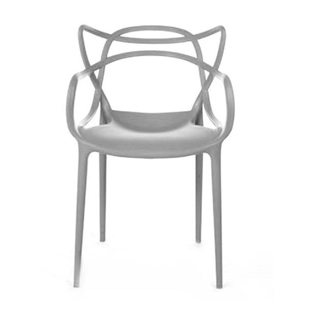 Designová židle Aspen - šedá