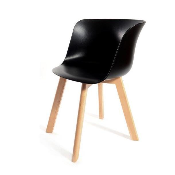 Designová židle Grand - černá