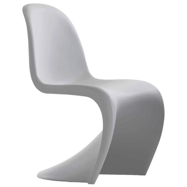 Designová židle PANTEON - šedá