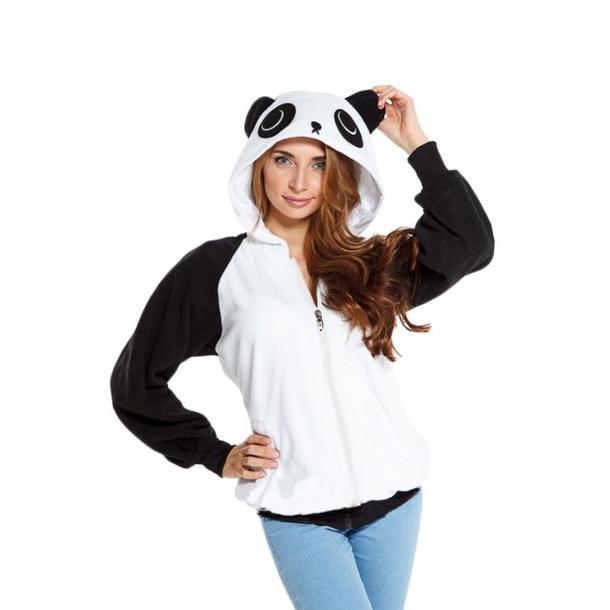 Plyšová mikina KIGU - panda