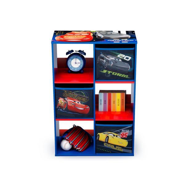 Dětský regál Auta - Cars