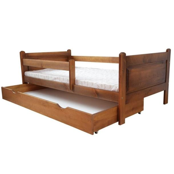 Dětská postel z MASIVU DP 024 - moření dub