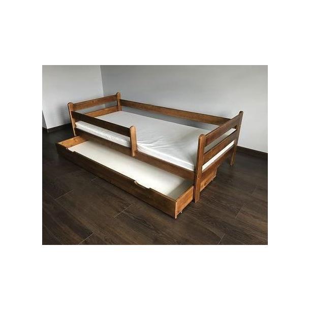 Dětská postel z MASIVU DP 025 - moření dub