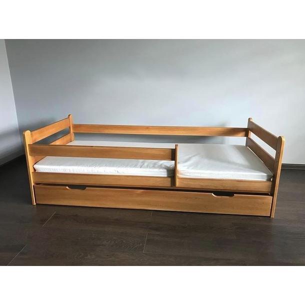 Dětská postel z MASIVU DP 025 - moření olše