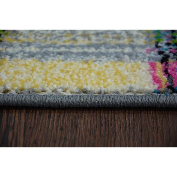 Moderní koberec FUNKY TOP LIT - zelený