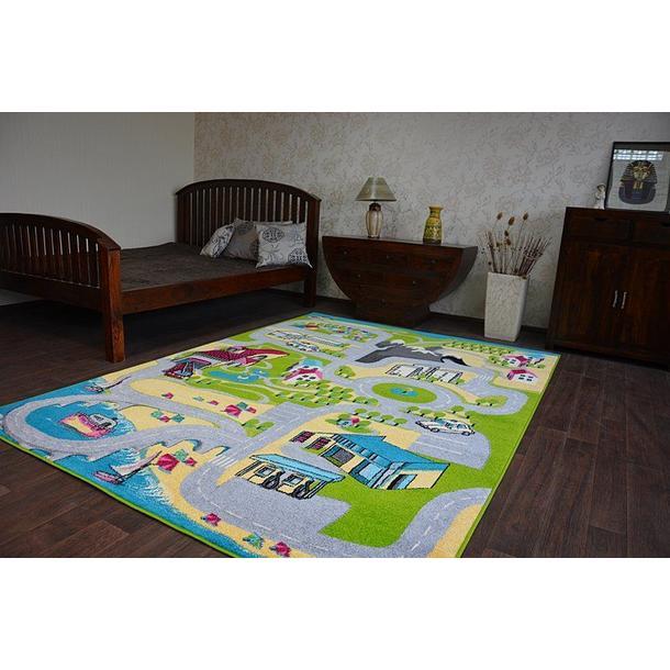 Dětský koberec FUNKY TOP UGO město