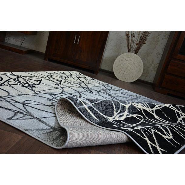 Moderní koberec FUNKY TOP BES - šedý