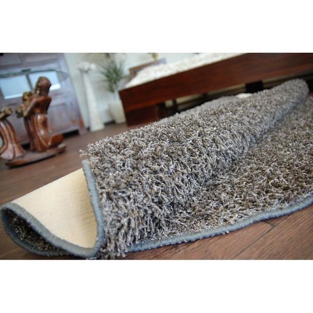 Kulatý koberec MISTRAL OCEL