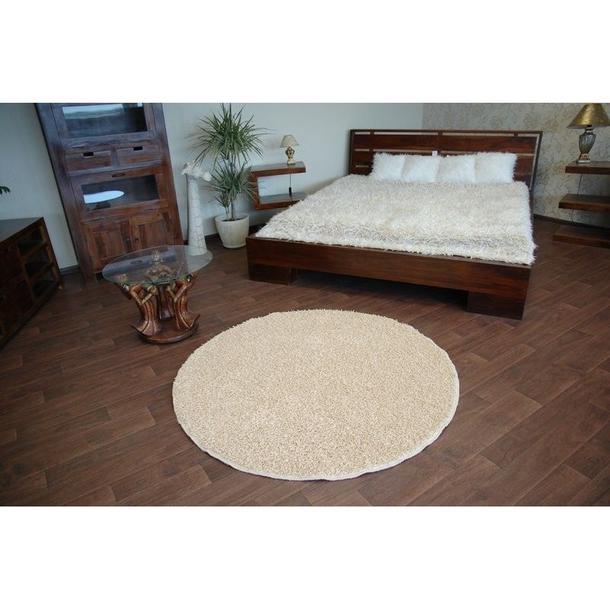 Kulatý koberec MISTRAL VANILKA