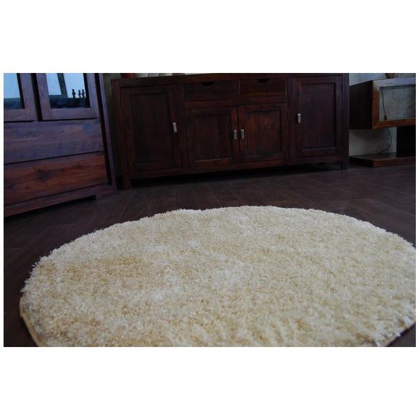 Kulatý koberec SHAGGY NARIN zlatý