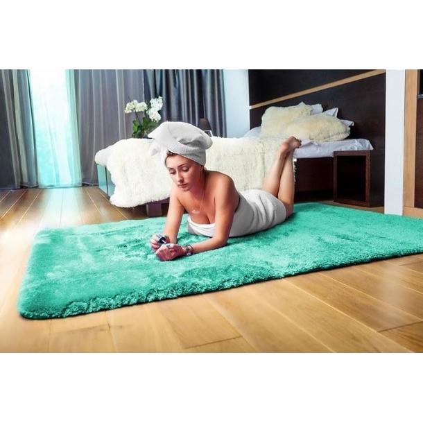 Dětský plyšový koberec MÁTOVÝ