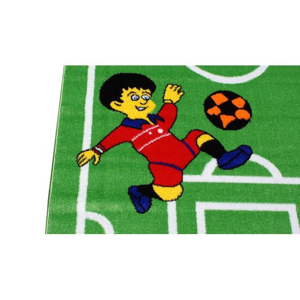 Dětský koberec Malý fotbalista