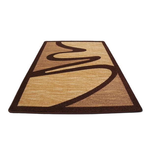 Moderní koberec NEO 2222 - hnědý