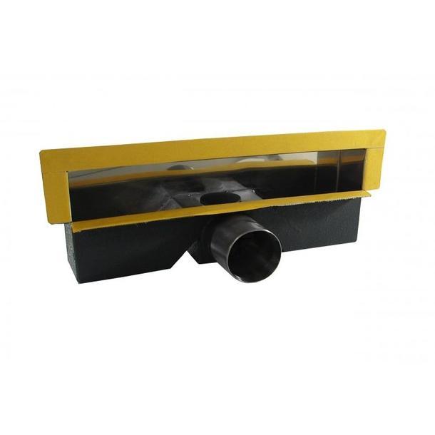 Odtokový sprchový žlab do stěny WALL SLIM