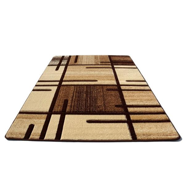 Moderní koberec OPIUM 1020 - hnědý