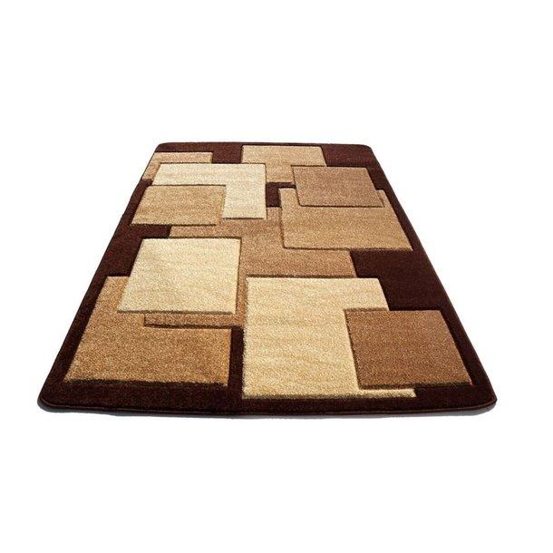 Moderní koberec OPIUM 8738 - hnědý