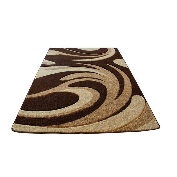 Moderní koberec OPIUM 8741 - hnědý