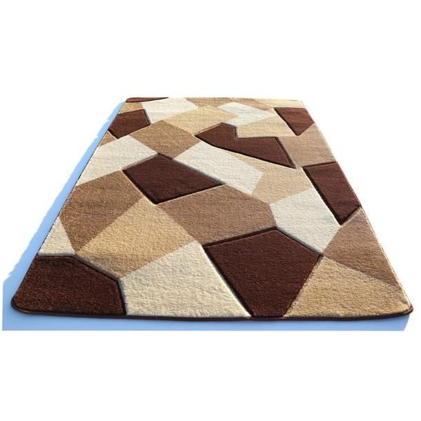 Moderní koberec OPIUM Kaleidoskop - hnědý
