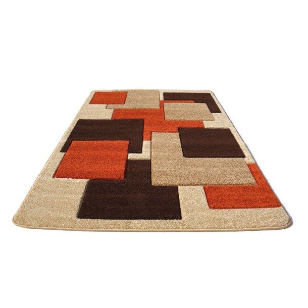 Moderní koberec OPIUM 8738 - terakota