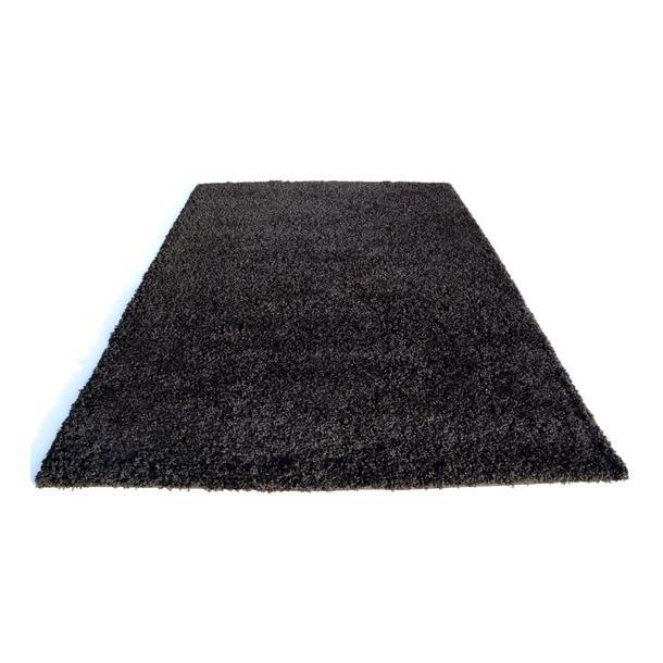 Kusový koberec SHAGGY SPARTA černý