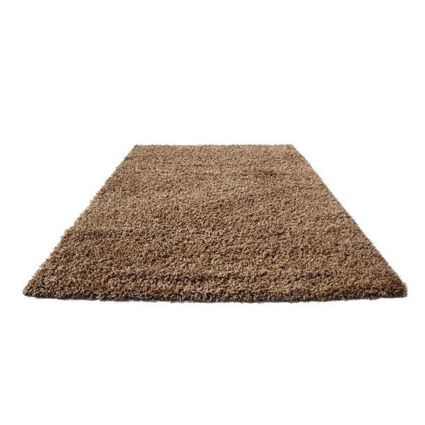 Kusový koberec SHAGGY SPARTA kávový