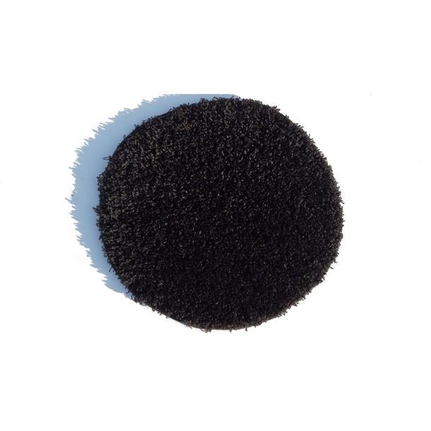 Kulatý koberec SHAGGY SPARTA černý