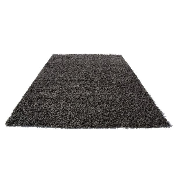 Kusový koberec SHAGGY SPARTA tmavě šedý