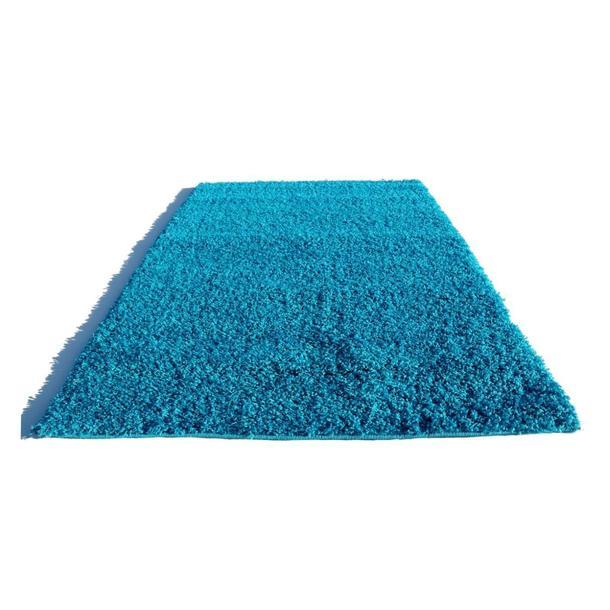 Kusový koberec SHAGGY SPARTA tyrkysový