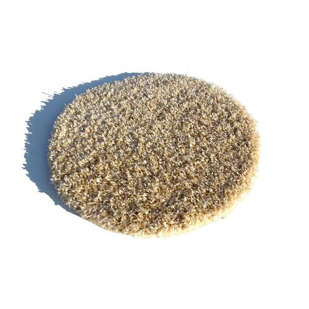 Kulatý koberec SHAGGY SPARTA krémový