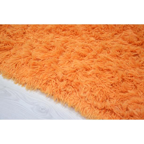 Dětský plyšový koberec MAX POMERANČOVÝ