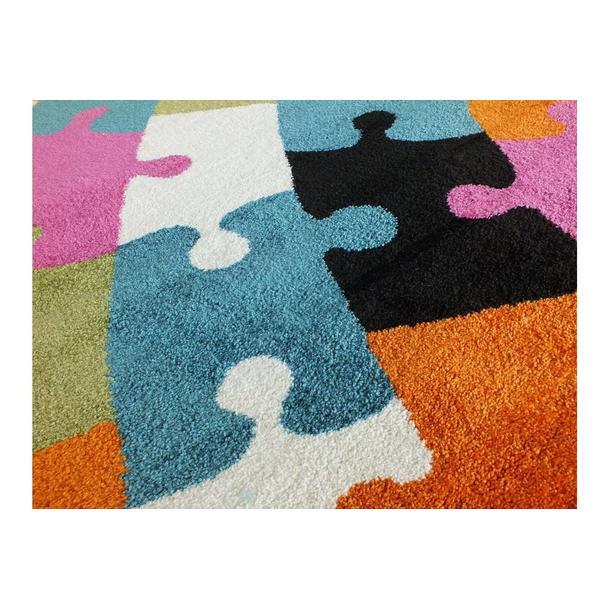 Dětský koberec Puzzle - multicolor