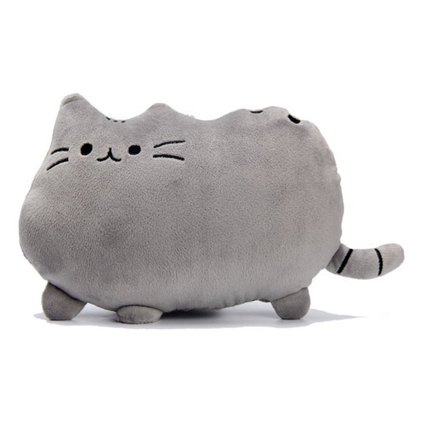 Plyšová kočka PUSHEEN - šedá