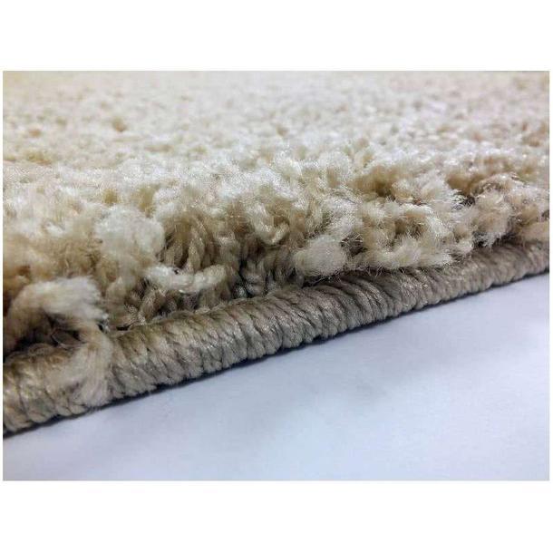 Moderní kusový koberec SHAGGY COLOR - vanilkový