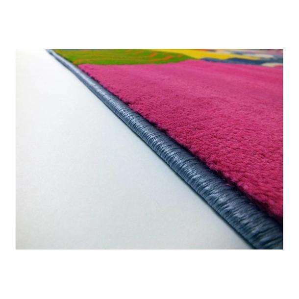 Dětský koberec Stopy - multicolor